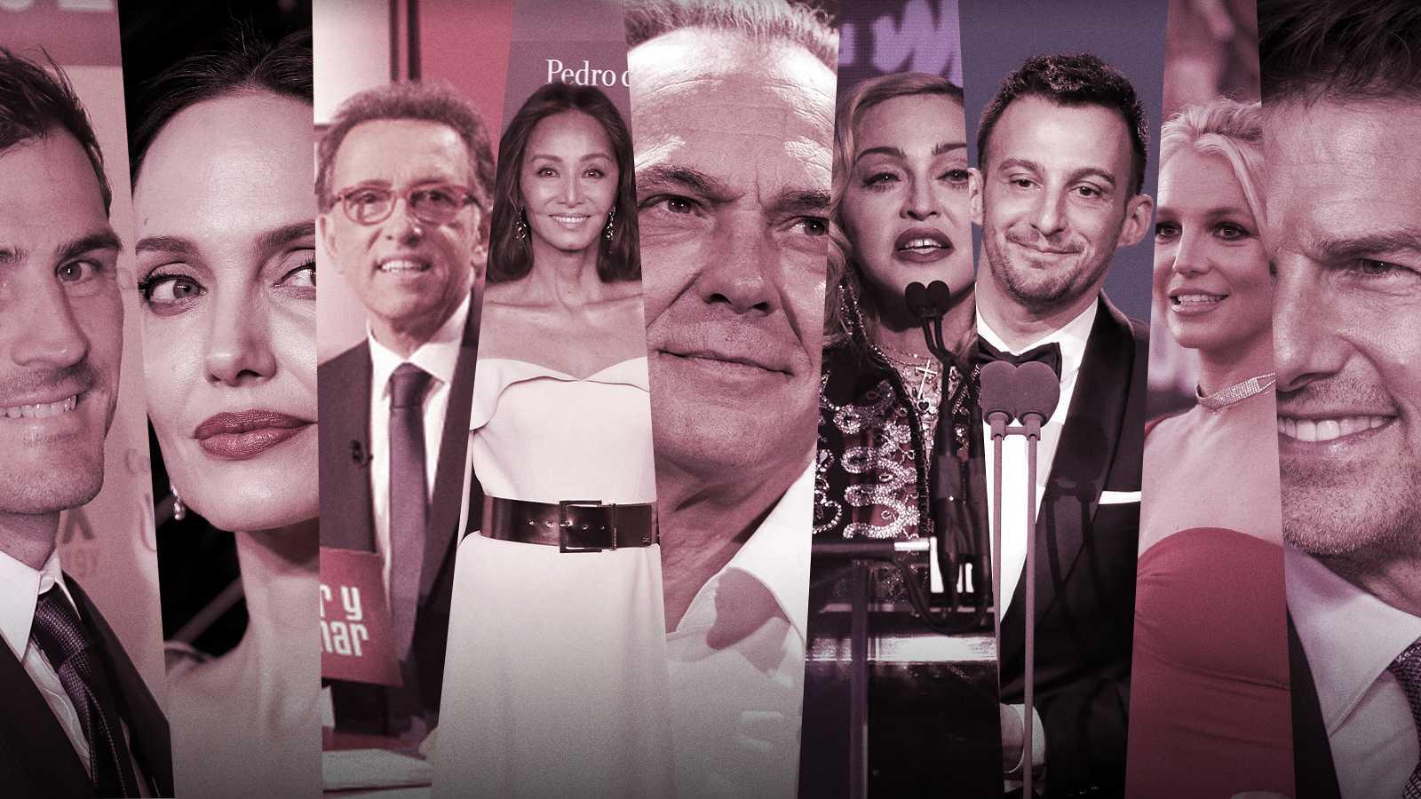 ¿Cuántos años tienen los famosos? Iker Casillas, Angelina Jolie, Jordi Hurtado, Isabel Preysler, José Coronado, Madonna, Alejandro Amenábar, Britney Spears y Tom Cruise