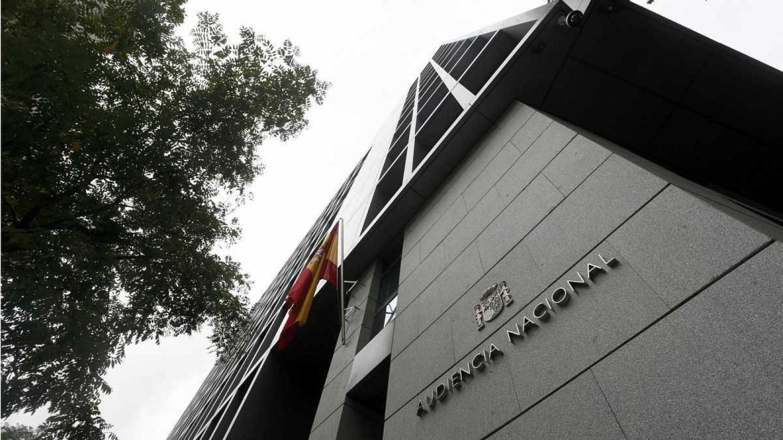 La fachada de la Audiencia Nacional, en una imagen de archivo.