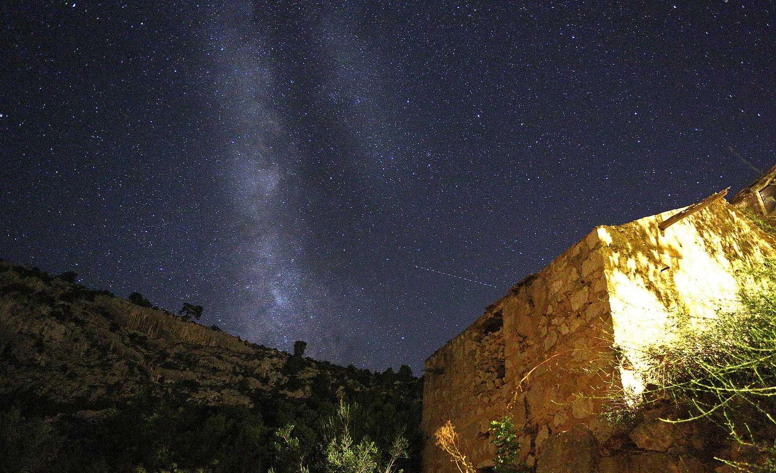 Las Dracónidas: próxima lluvia de estrellas