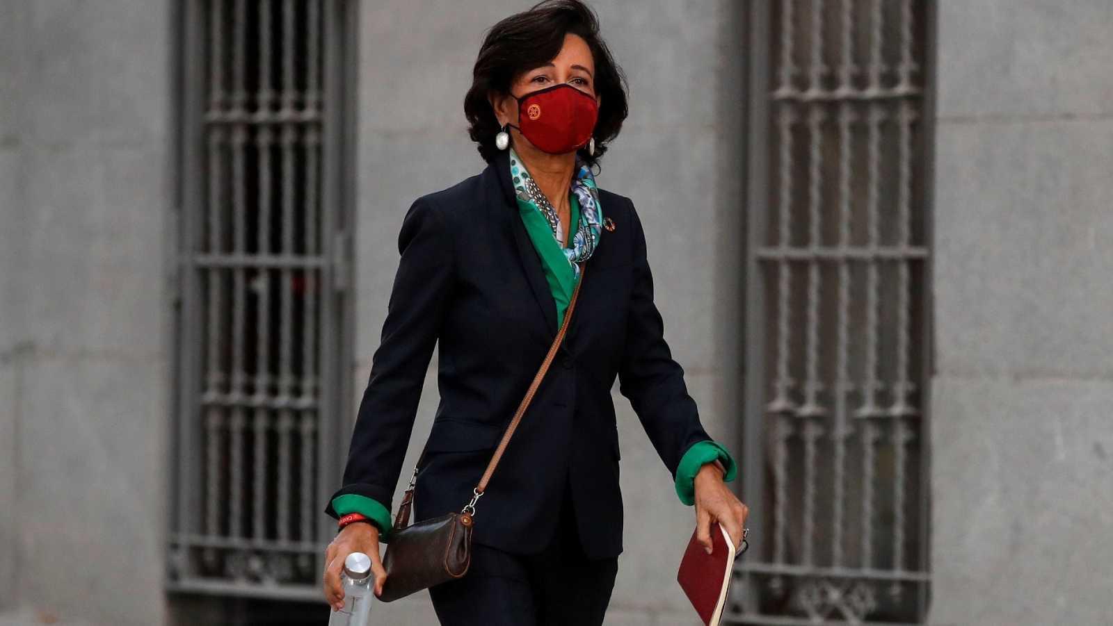 Ana Botín testifica en el juicio del Banco Popular