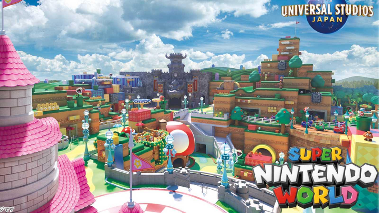 Super Nintendo World abrirá sus puertas en primavera de 2021