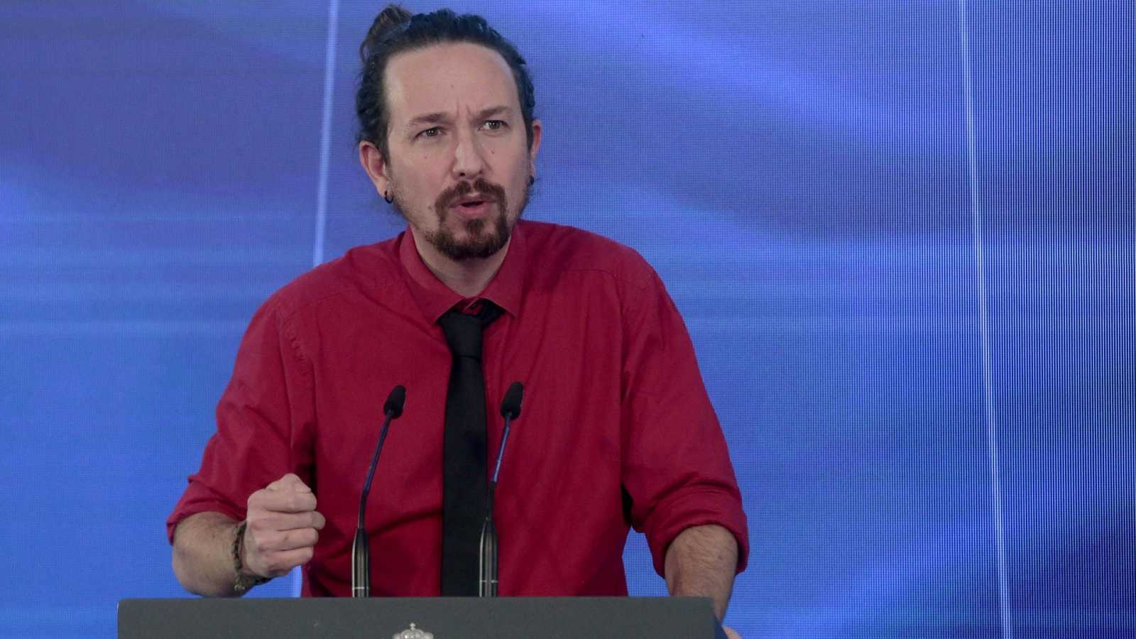 El vicepresidente segundo del Gobierno y líder de Podemos, Pablo Iglesias.