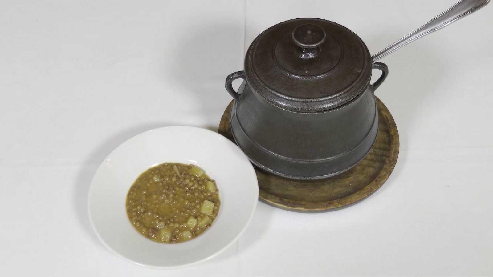 Receta de lentejas tradicionales con Bustamante