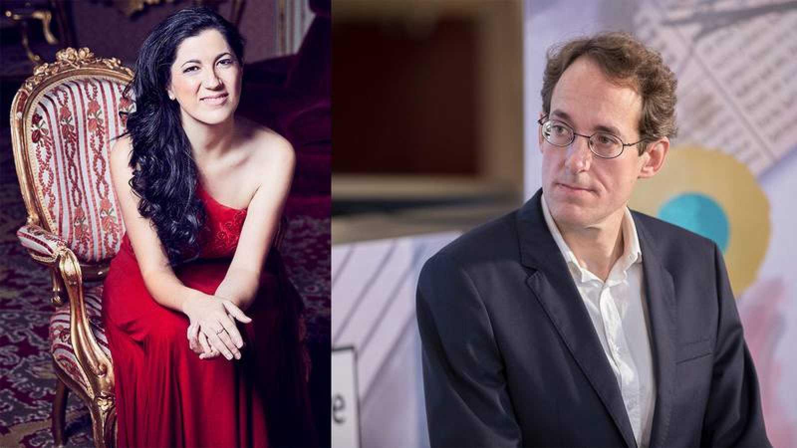 Cristina Faus y Pablo González