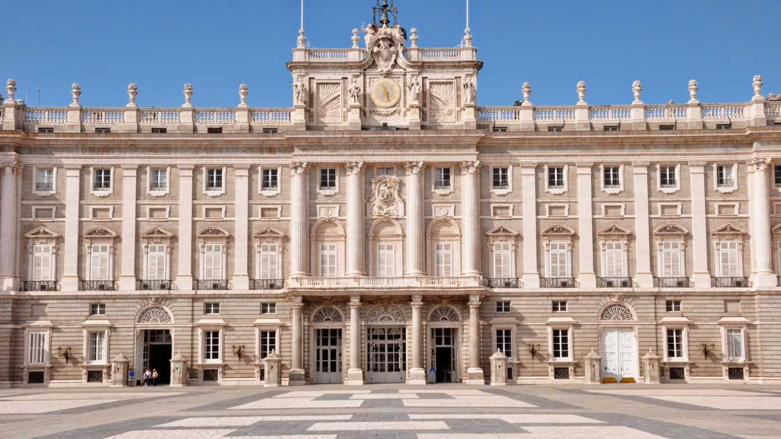 Día de la Fiesta Nacional desde el Palacio Real