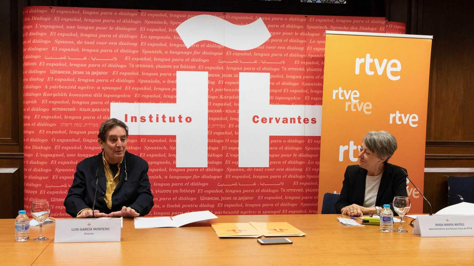 Rosa María Mateo y Luis García Montero