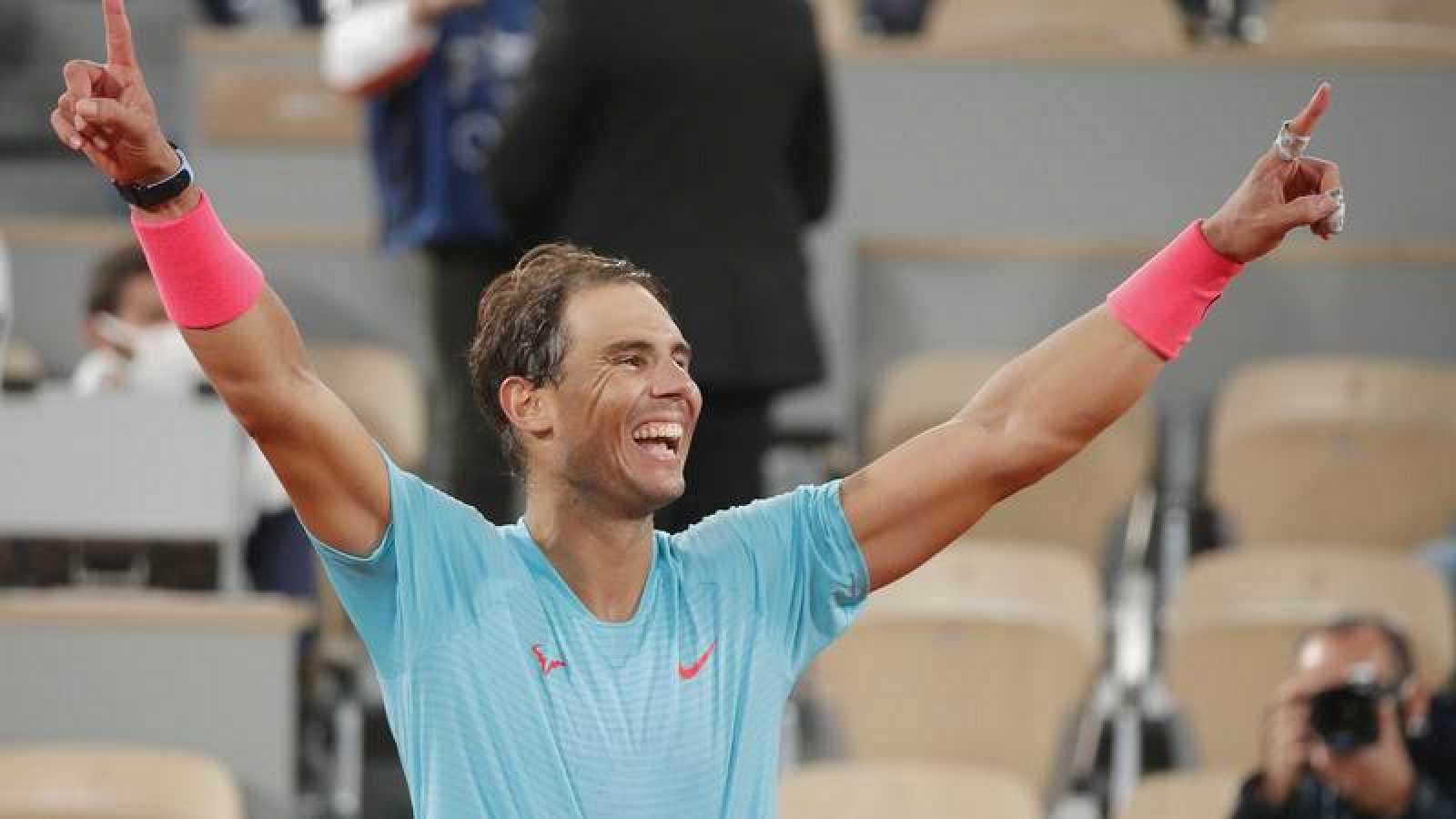 Rafa Nadal celebra su 13º Roland Garros