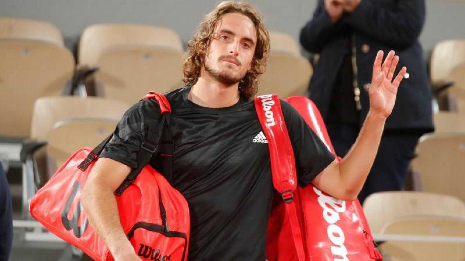El tenista griego Stefanos Tsitsipas, en el pasado Roland Garros.