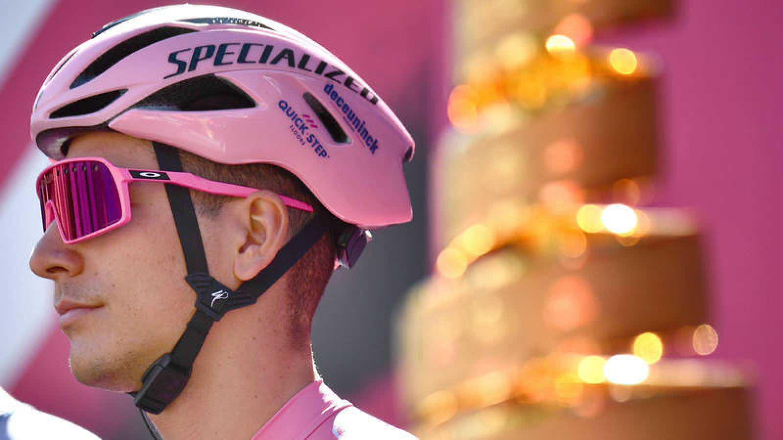 Joao Almeida, actual líder del Giro de Italia.
