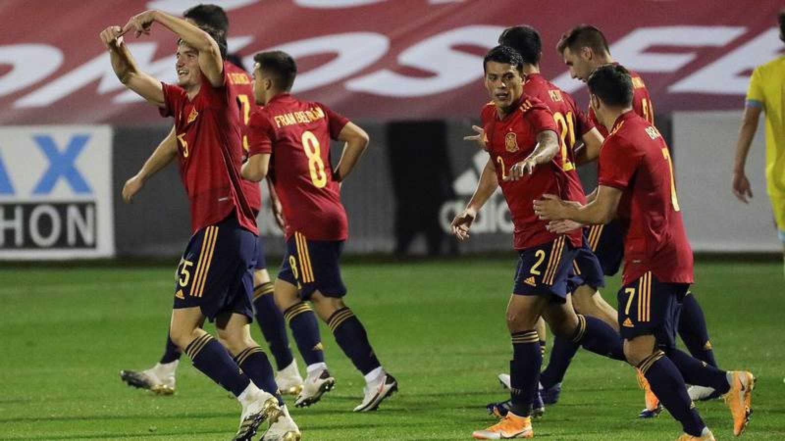 La selección española sub-21 ha sellado el pase al Europeo.