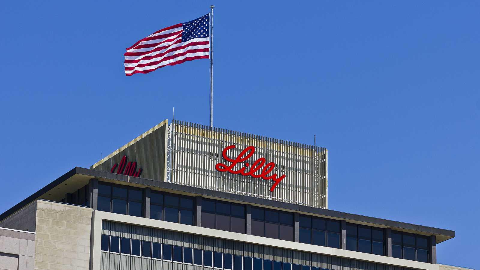 Sede mundial de Eli Lilly and Company en Indianápolis, Estados Unidos.