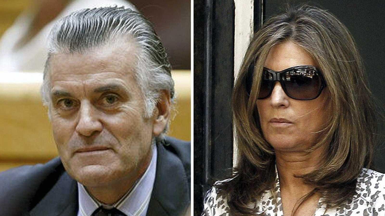 Imagen de archivo de Luis Bárcenas y su mujer Rosalía Iglesias