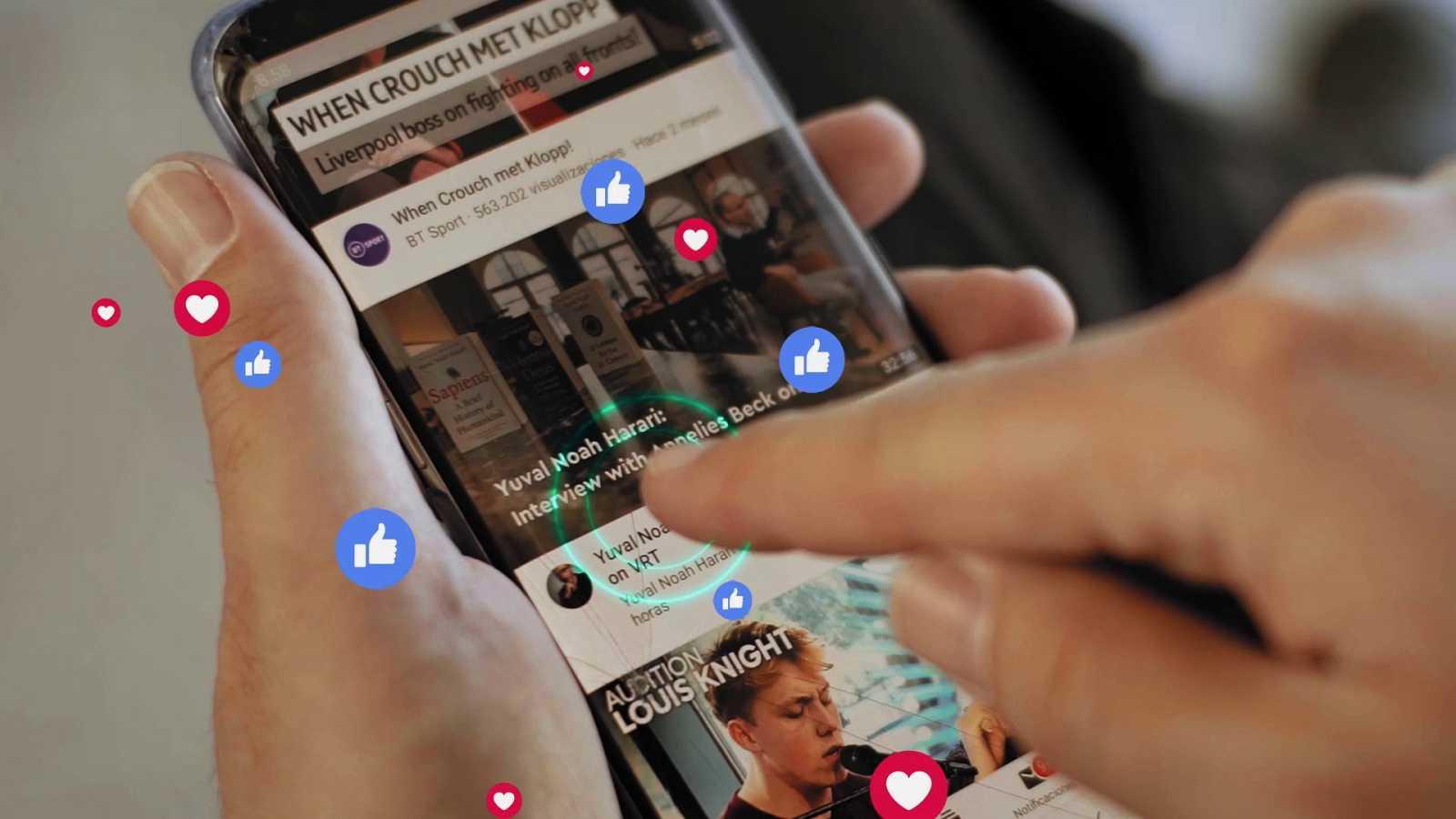 Actividad en redes sociales monitorizada