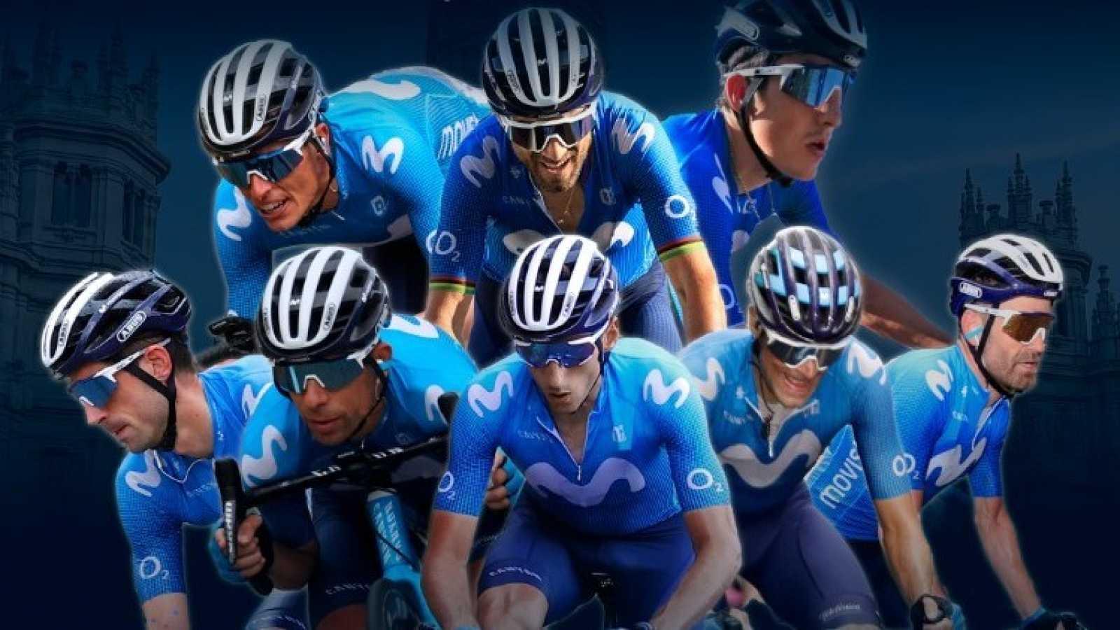 Movistar Team en la Vuelta