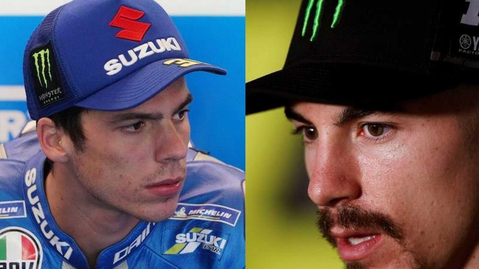 Los pilotos españoles de MotoGP Joan Mir y Maverick Viñales, favoritos en el GP de Aragón 2020.