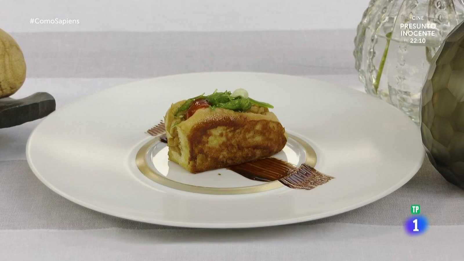 Receta de brioche relleno de changurro a los cinco sabores