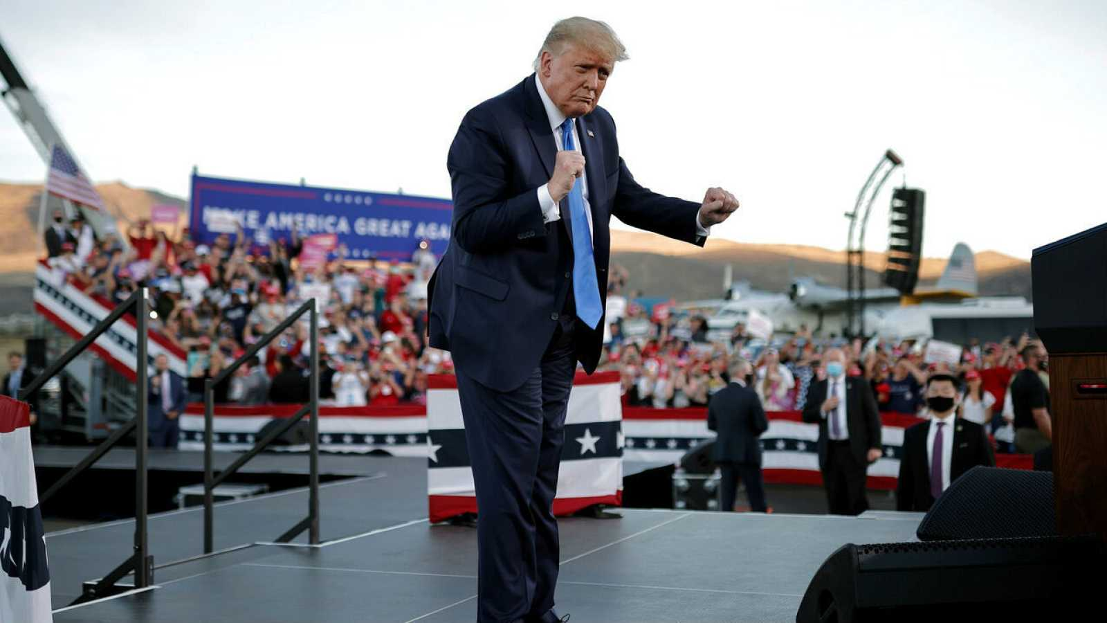 Biden apela al voto afroamericano mientras Trump intenta convencer a los latinos en Nevada