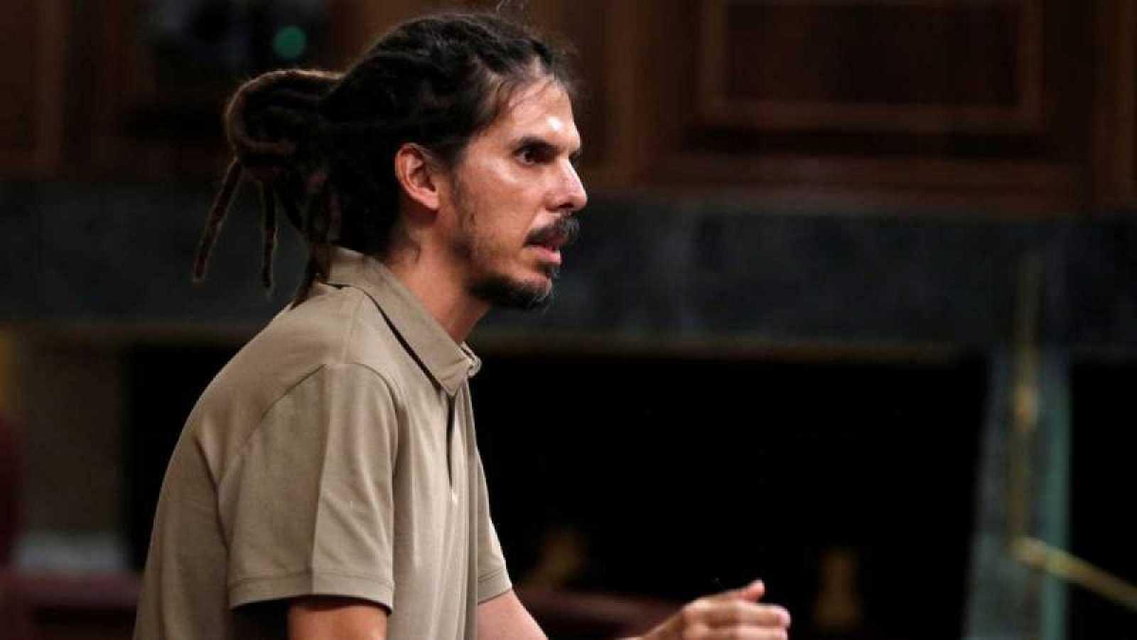 El diputado de Unidas Podemos Alberto Rodríguez, en una imagen de archivo.