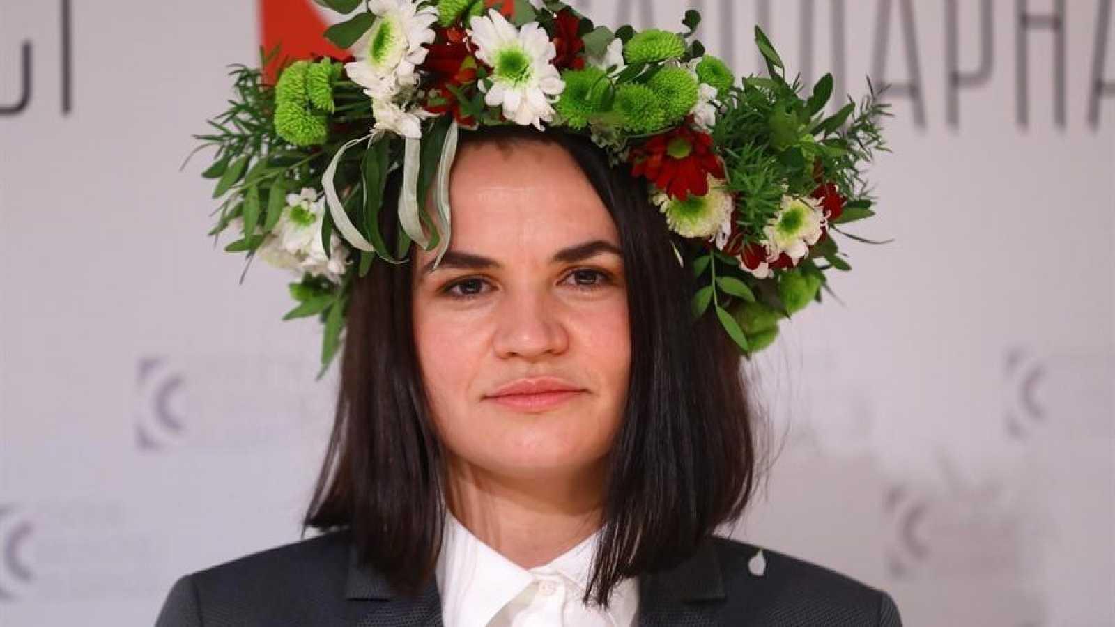 La oposición de Bielorrusia, representada por Svetlana Tikhanovskaya, recibirá el Premio Sajarov a la Libertad de Pensamiento 2020