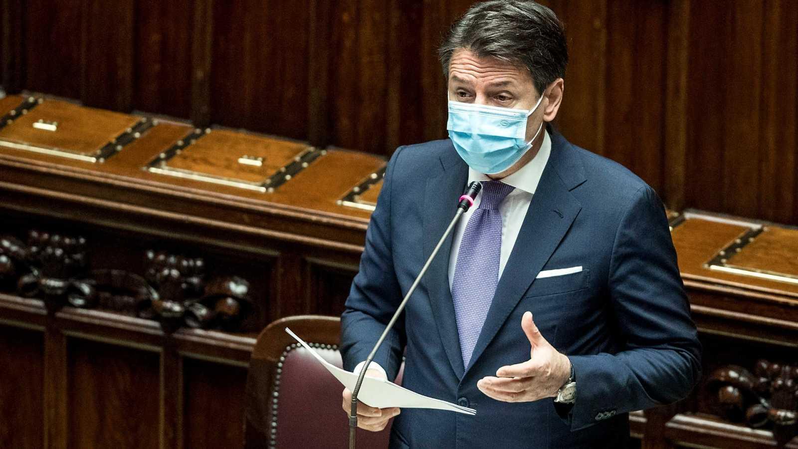 El presidente del Gobierno italiano, Giuseppe Conte.