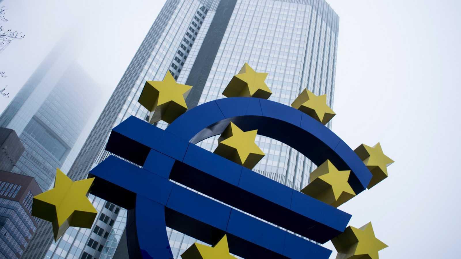 La sede del Banco Central Europeo, en Frankfurt, Alemania
