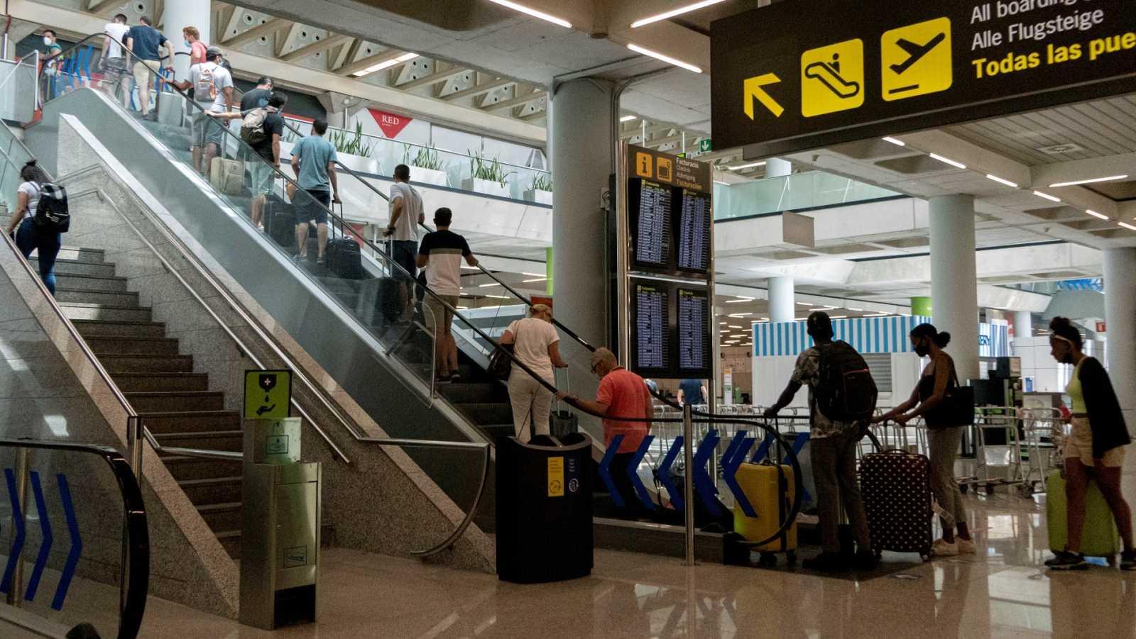 El aeropuerto de Palma este verano
