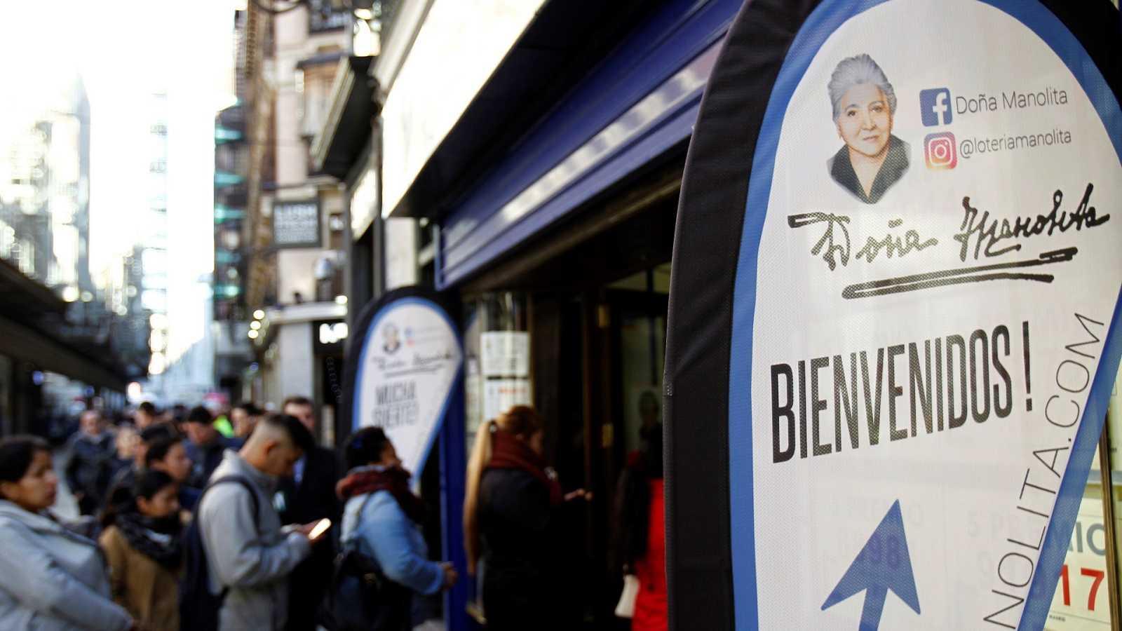 La administración de Lotería Doña Manolita vendió el 14.320 en tan solo dos días