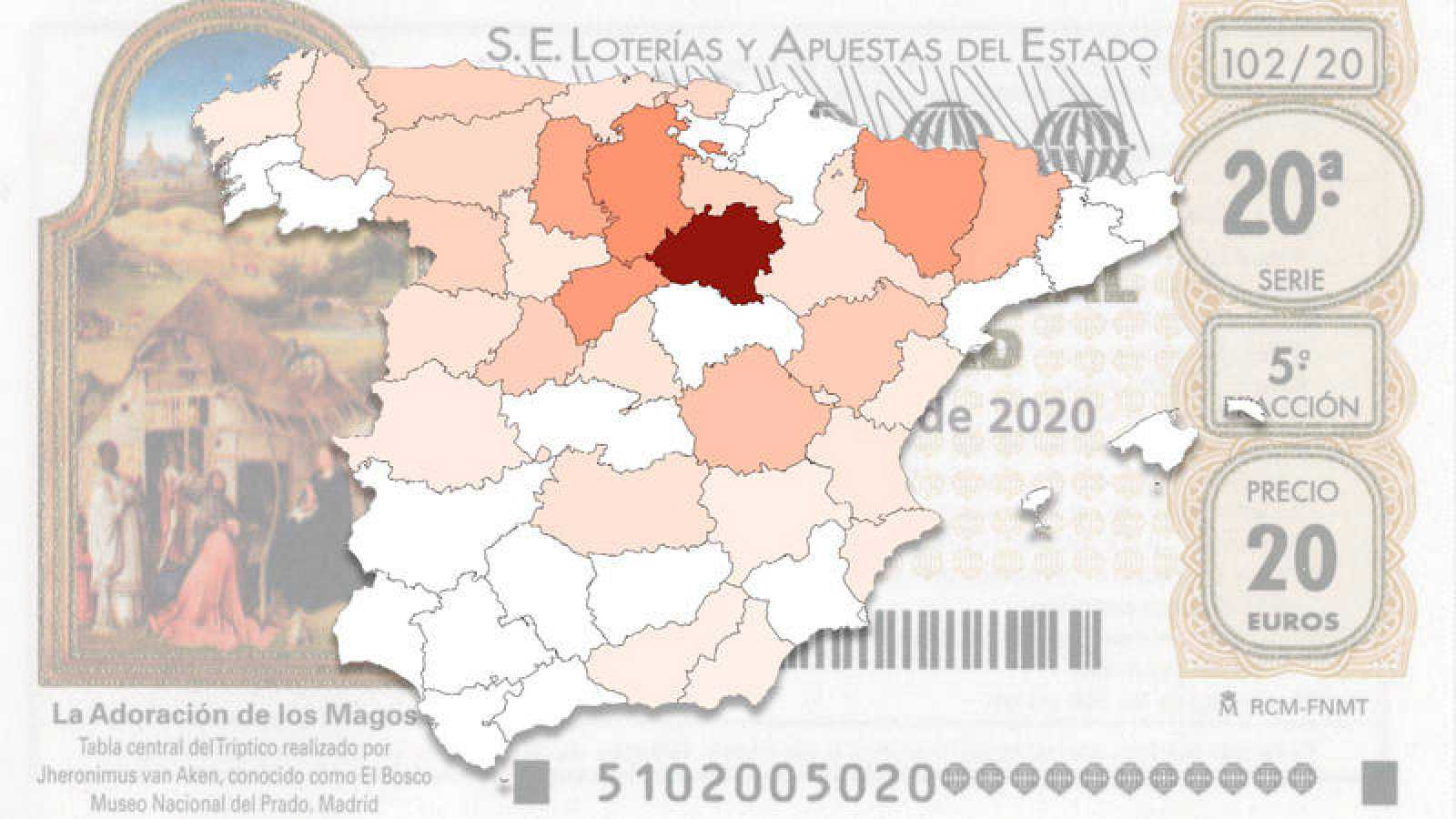 Los sorianos vuelven a ser los españoles que más Lotería de Navidad compran
