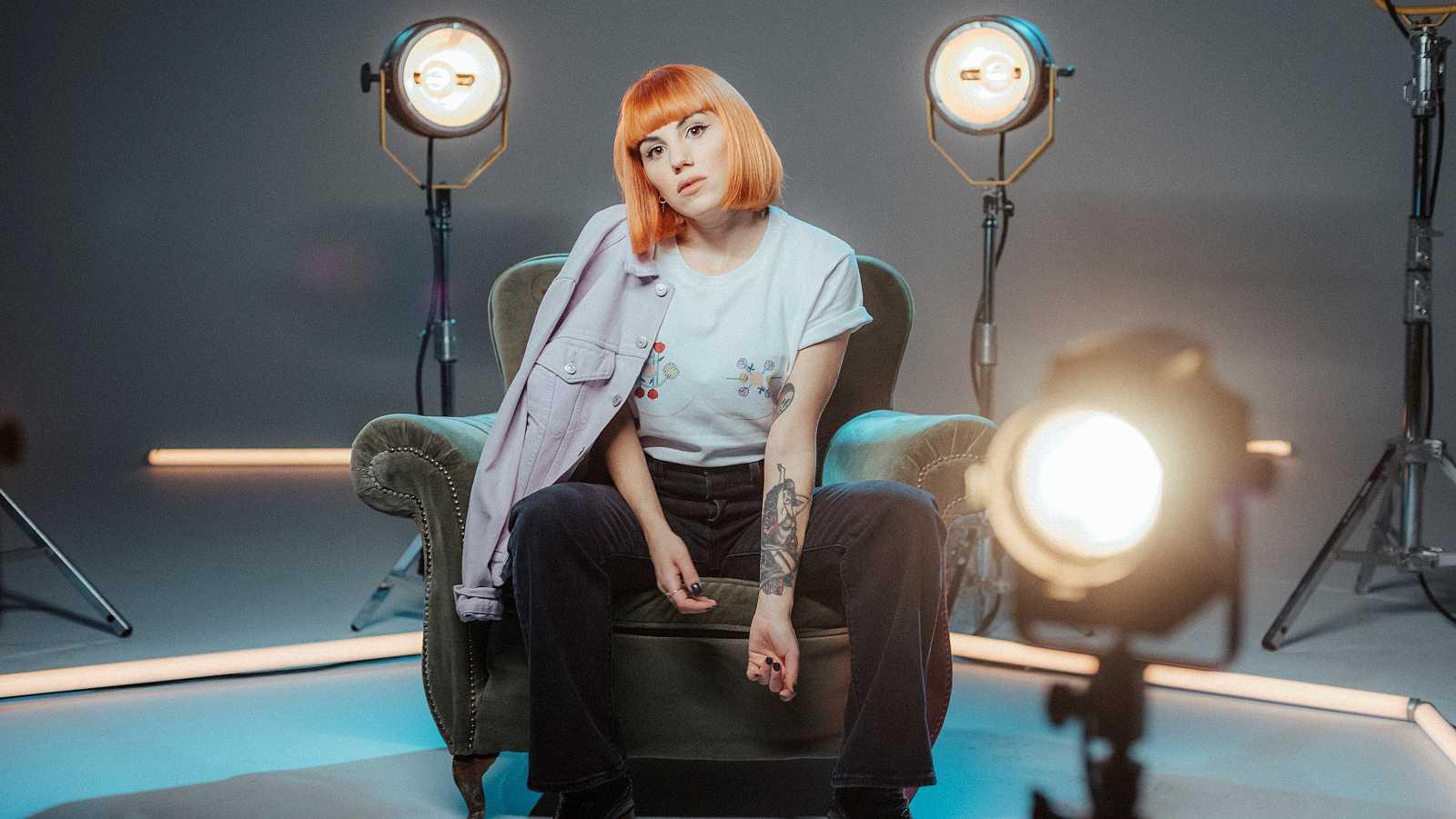 La artista Angy Fernández tiene once tatuajes