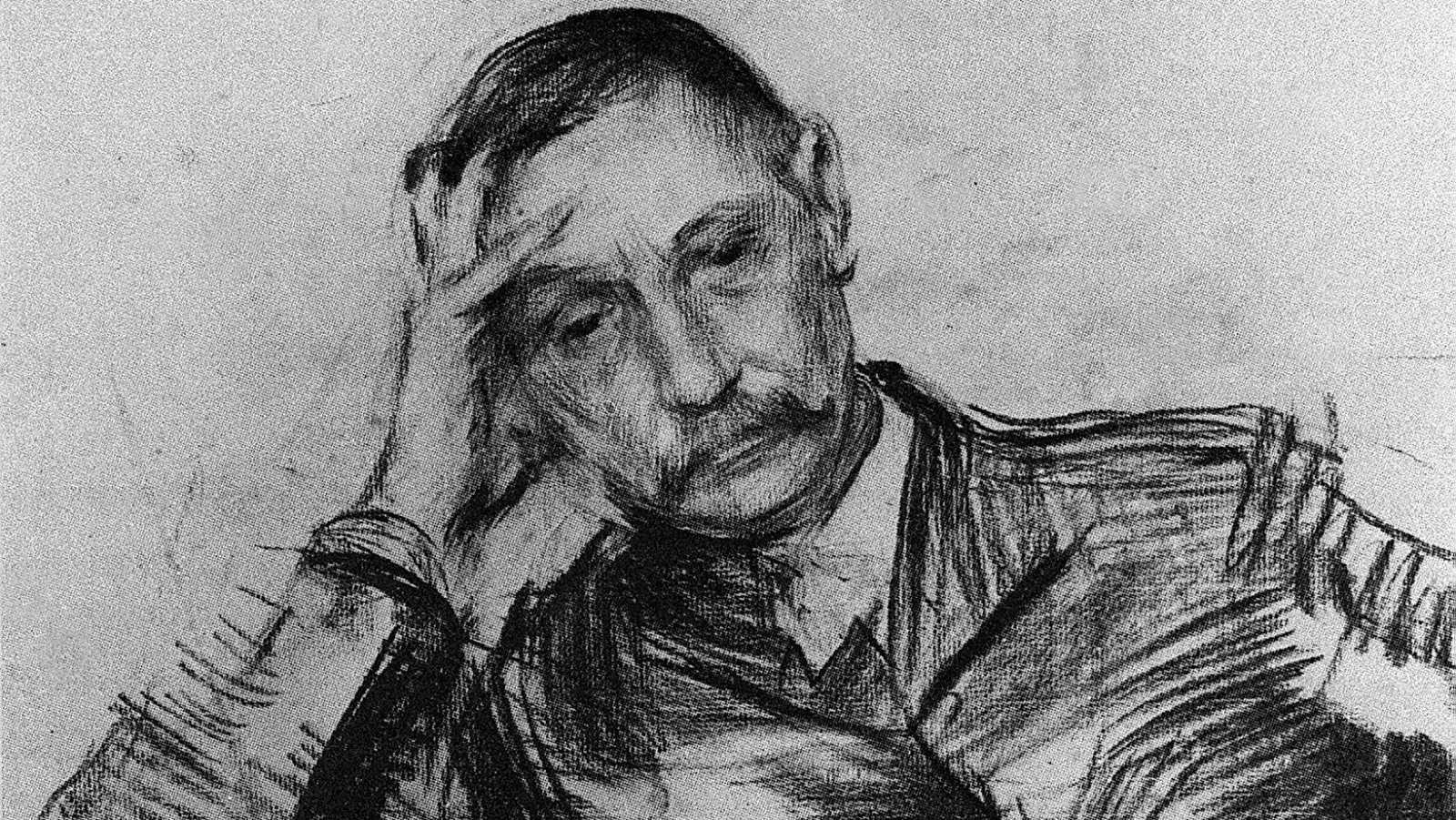 Retrato del escritor Benito Pérez Galdó