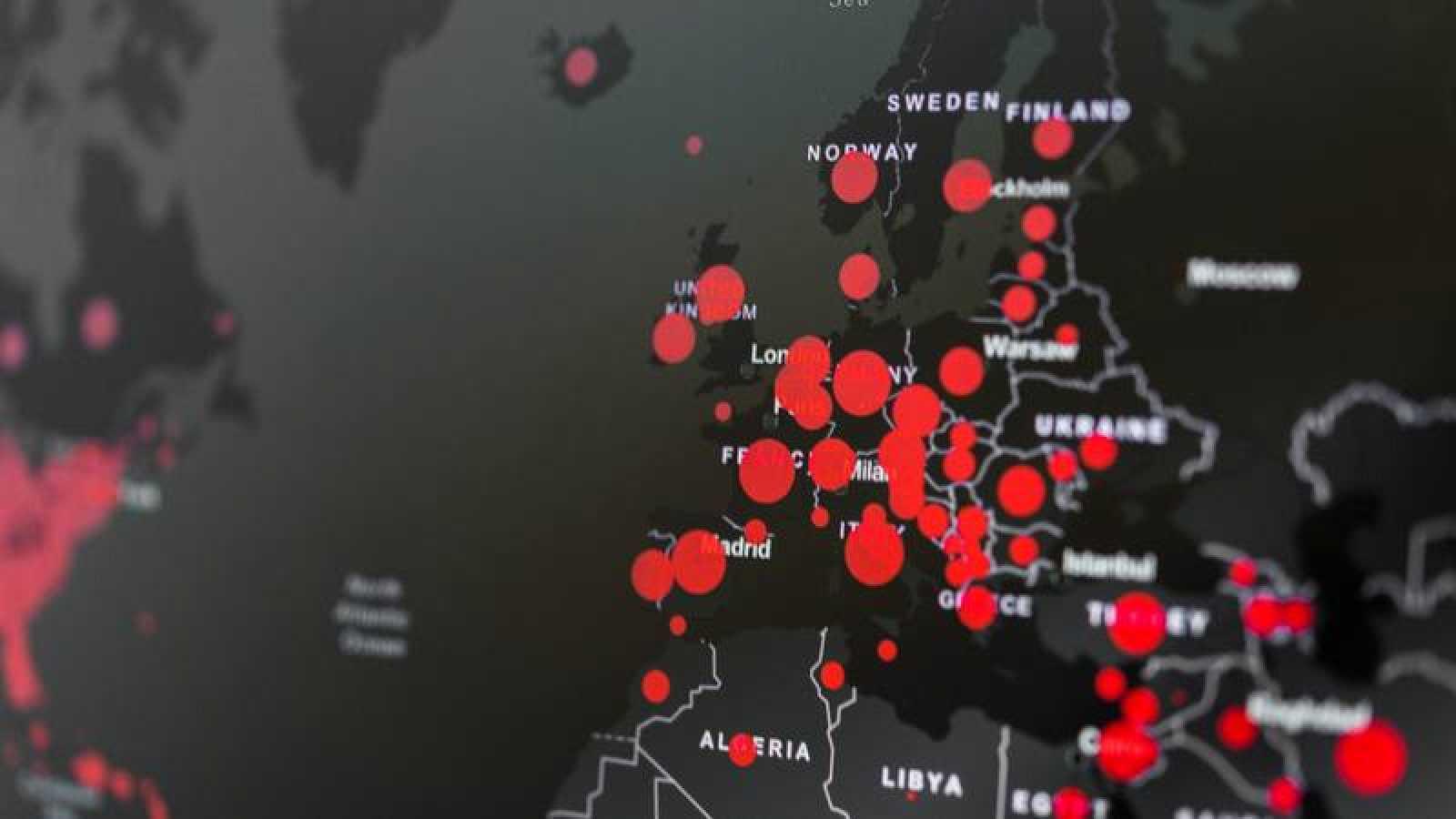 Coronavirus: situación actual en Europa