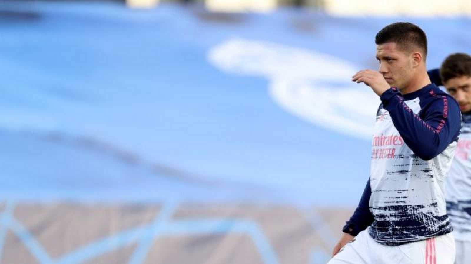 Imagen de archivo del delantero del Real Madrid Jovic.