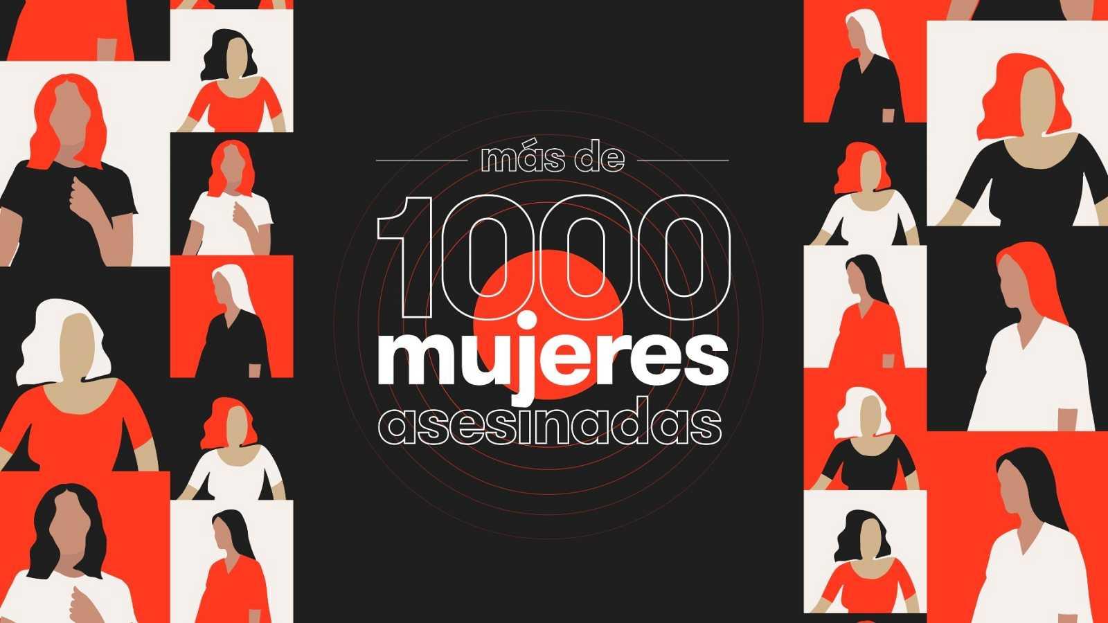 Imagen del proyecto '1000 mujeres asesinadas', de RTVE.