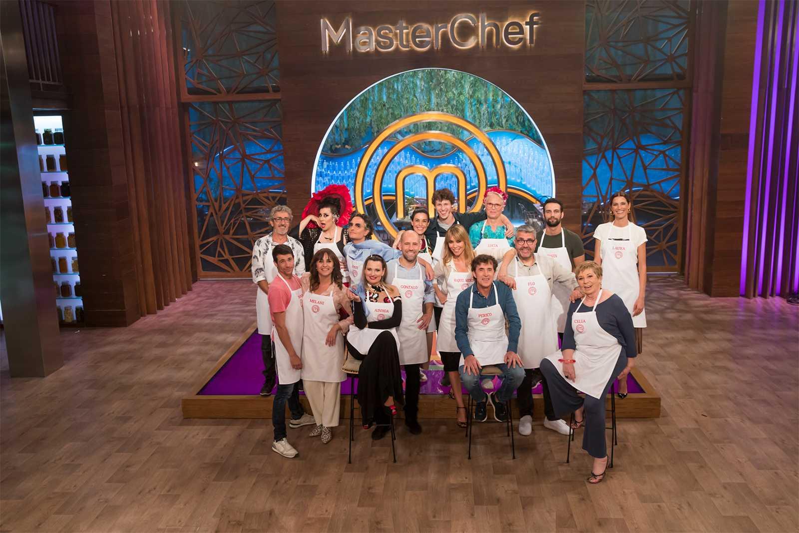 Los participantes de MasterChef Celebrity 5