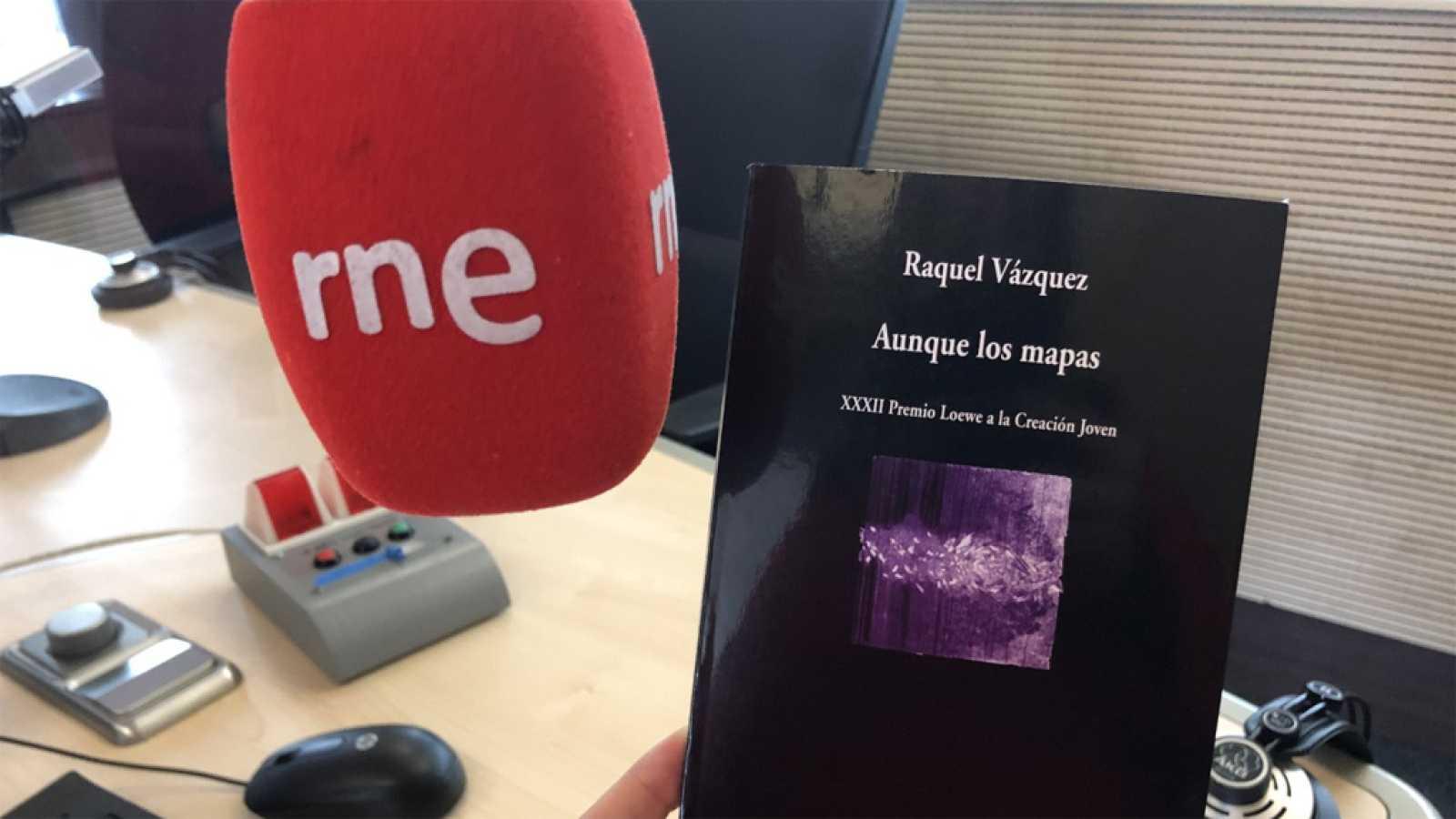 Raquel Vázquez, Premio 'El Ojo Crítico' de RNE de Poesía