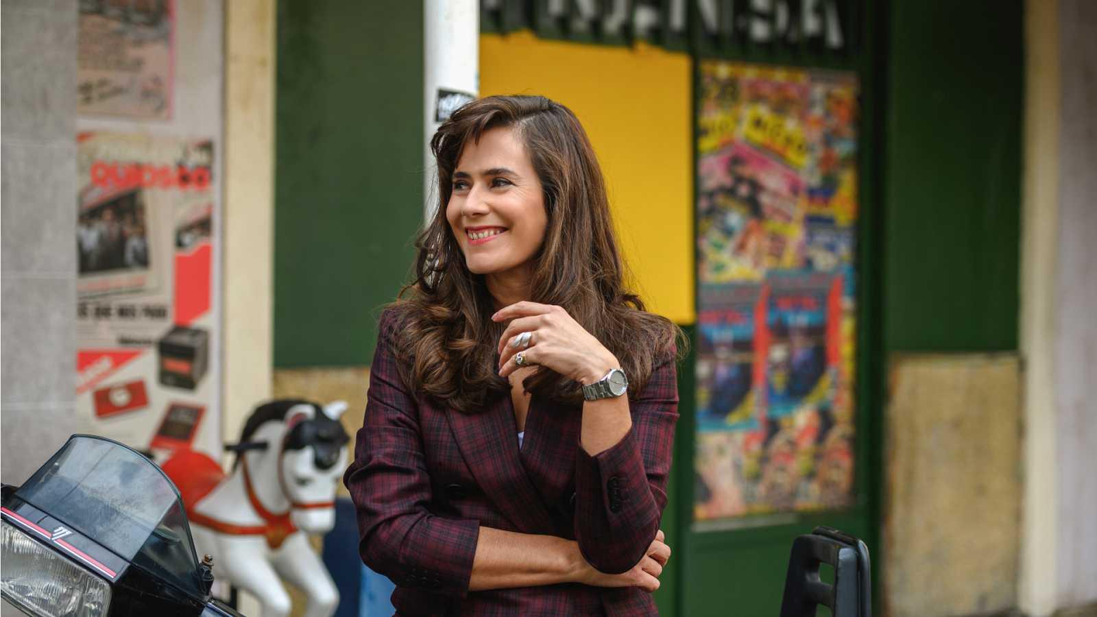 Anna Allen es Marta Altamira en 'Cuéntame cómo pasó'