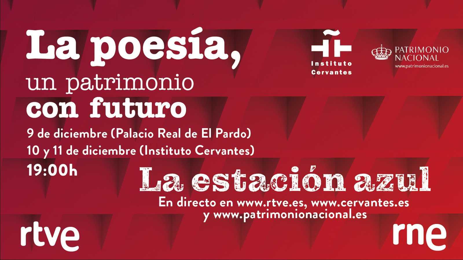 Cartel de 'La poesía, un patrimonio con futuro' de RNE