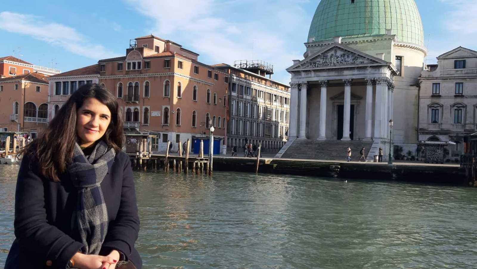 Miriam Rejas del Pino, aquesta setmana al programa 'Jo soc Erasmus'