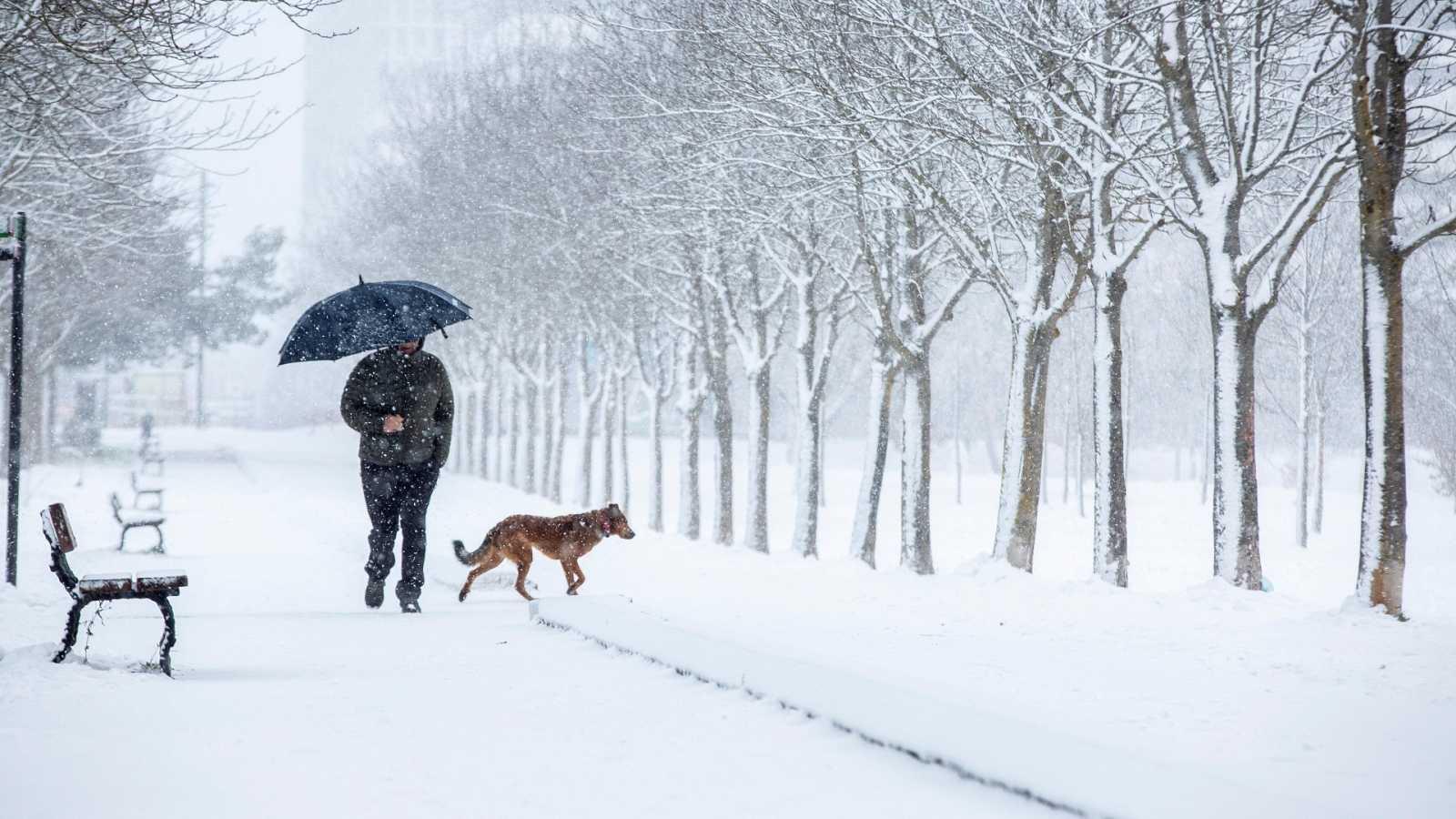 Una treintena de provincias continúan en alerta por nieve y temperaturas de hasta -12 grados