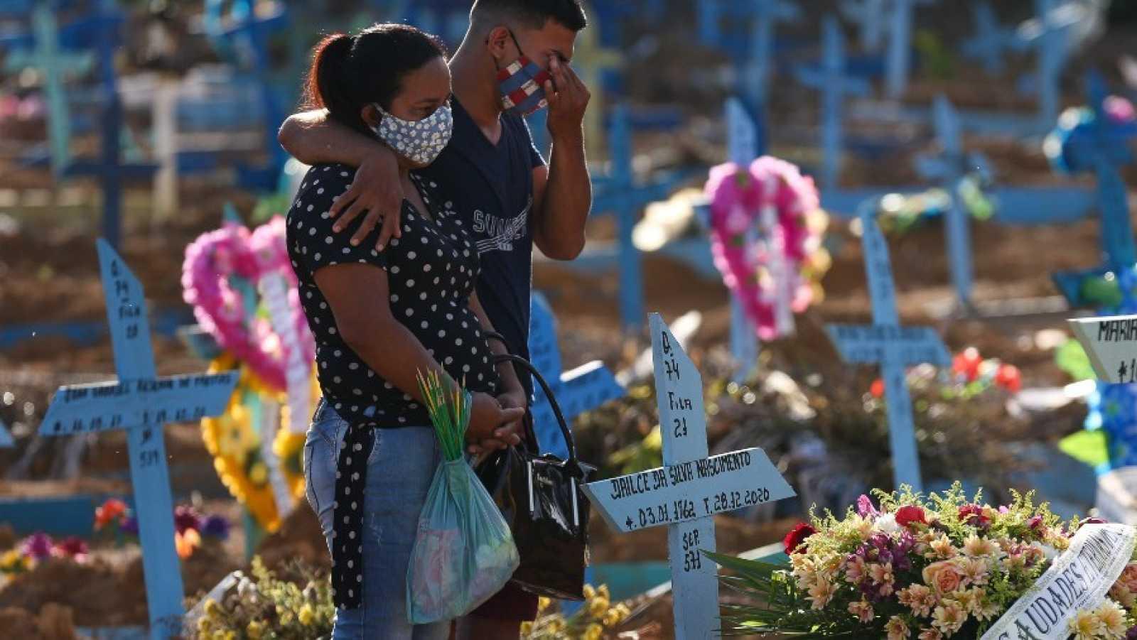 Brasil supera la marca de los 200.000 muertos con COVID-19