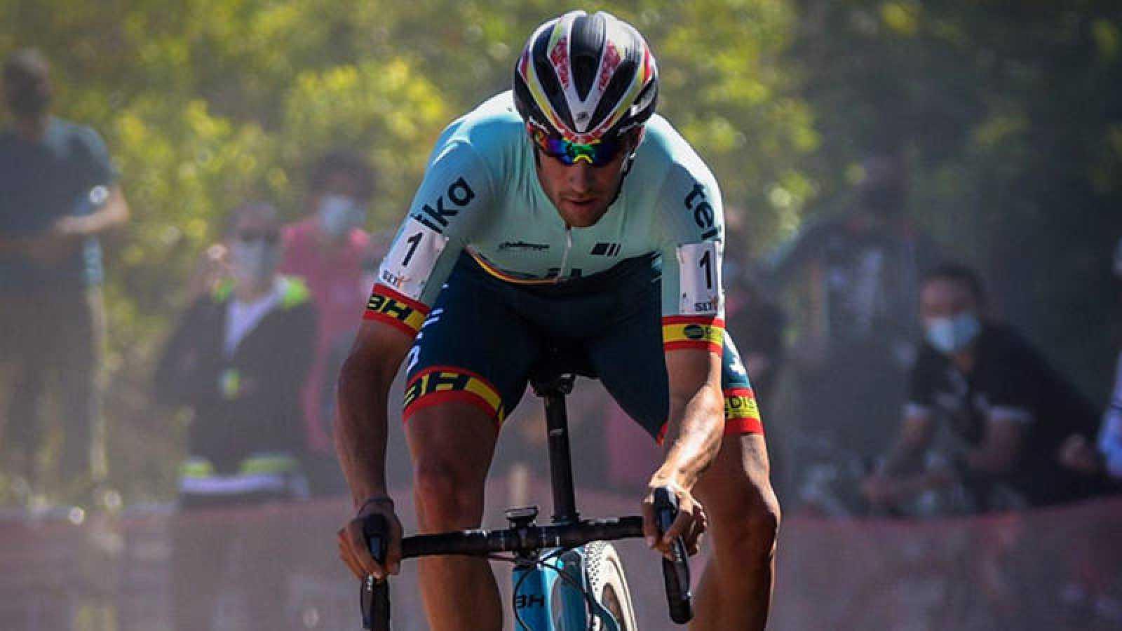 Felipe Orts aspira a revalidar el campeonato de España de ciclocross.