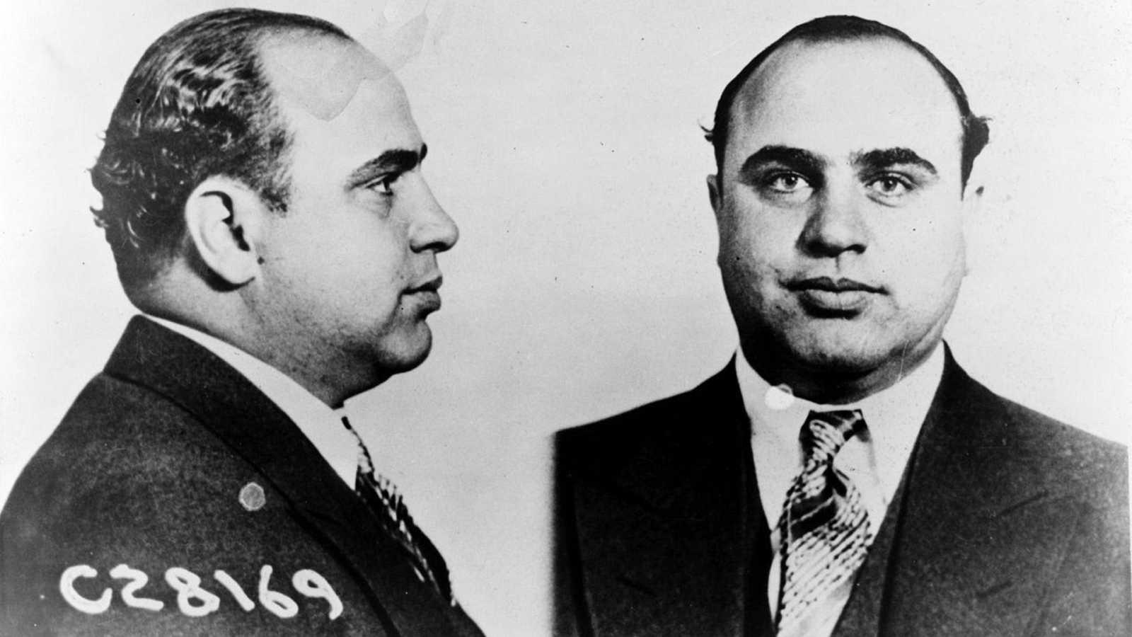 El temido mafioso Al Capone en 1931.