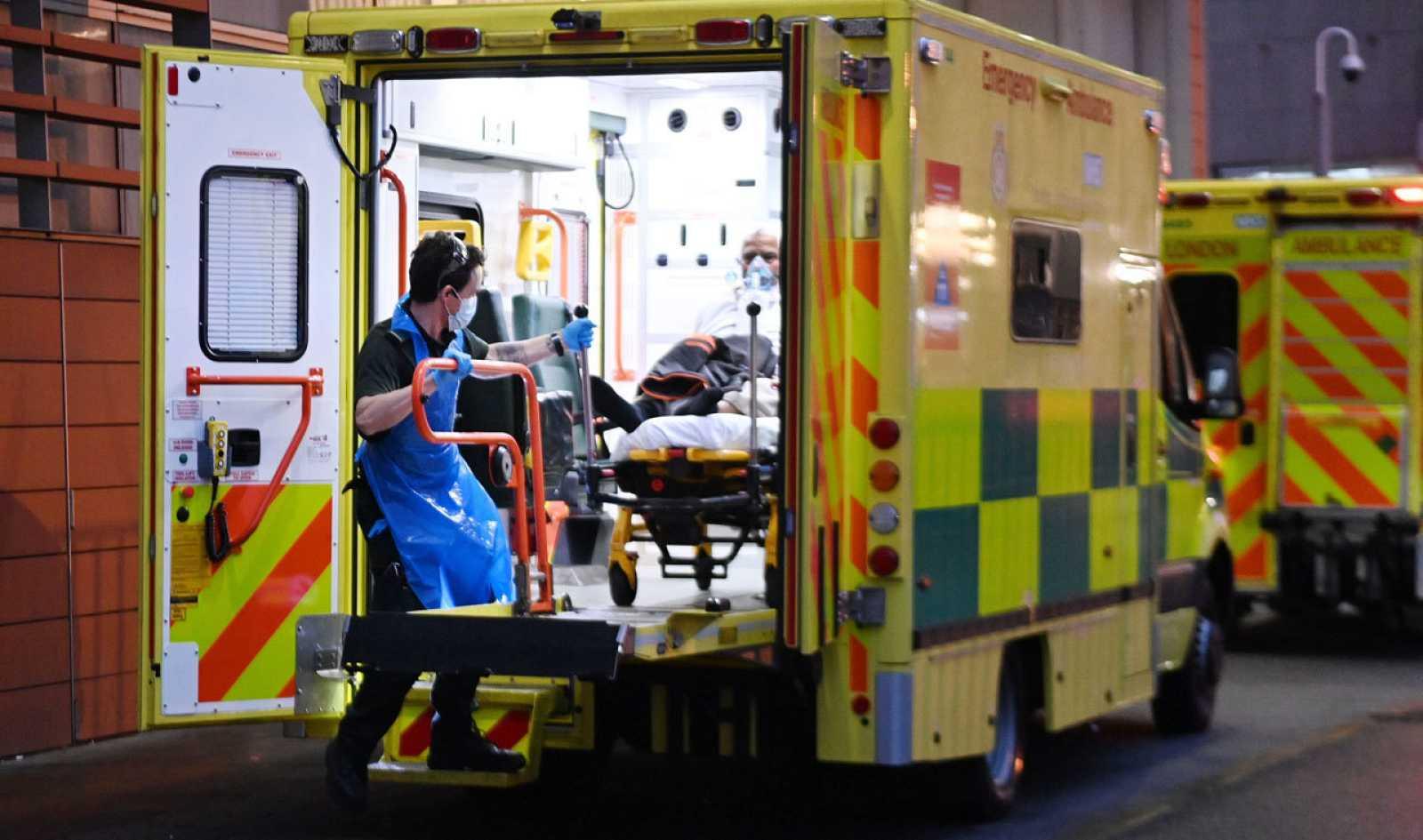 El país británico se encuentra en medio de la tercera ola de coronavirus
