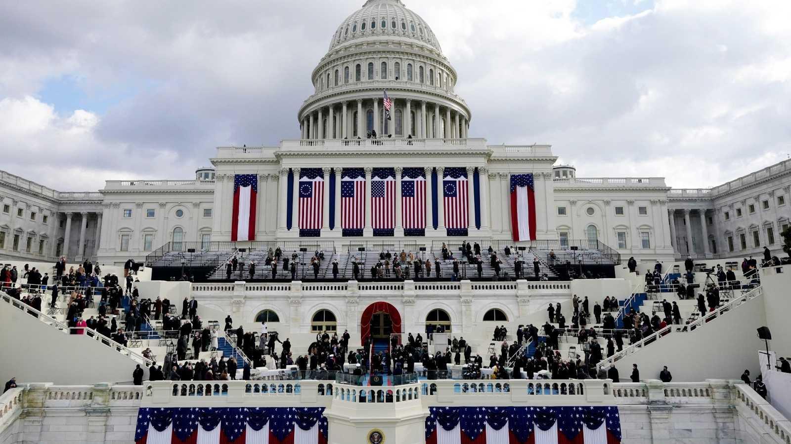 El Capitolio se prepara para recibir al 46º presidente de los Estados Unidos