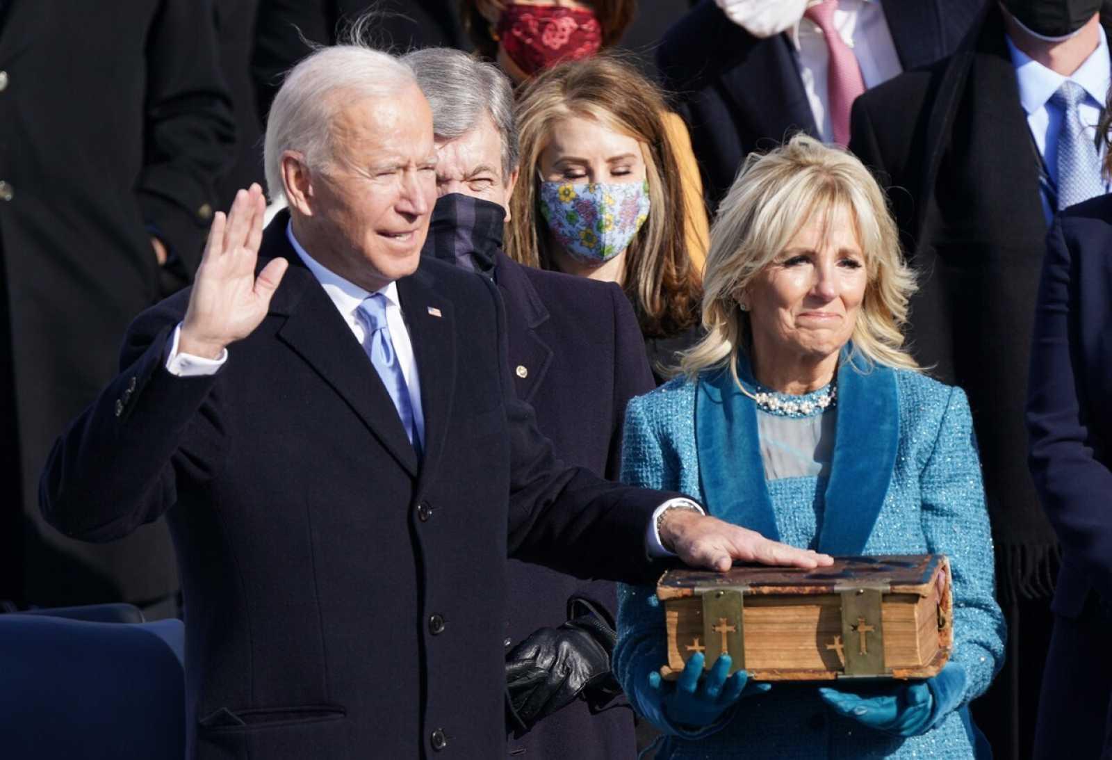 Investidura de Biden, en directo | Biden llega a la Casa Blanca para firmar sus primeras órdenes ejecutivas