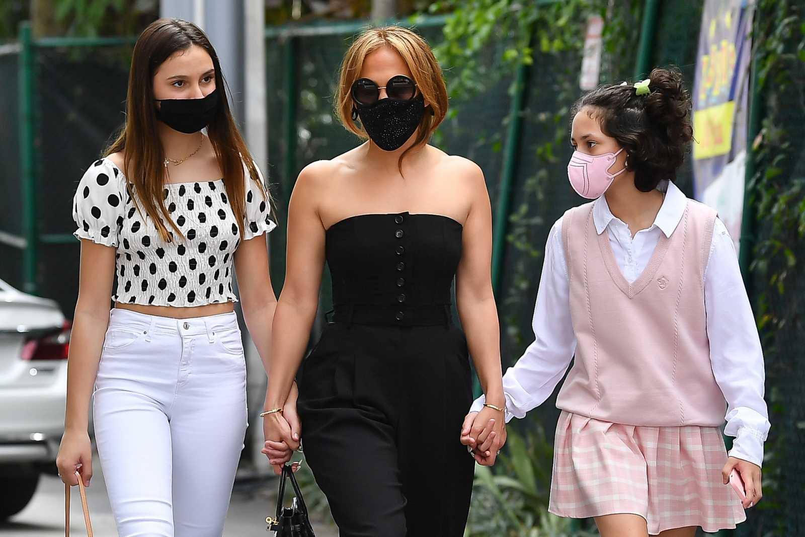 Jennifer López junto a su hija, Emme Anthony