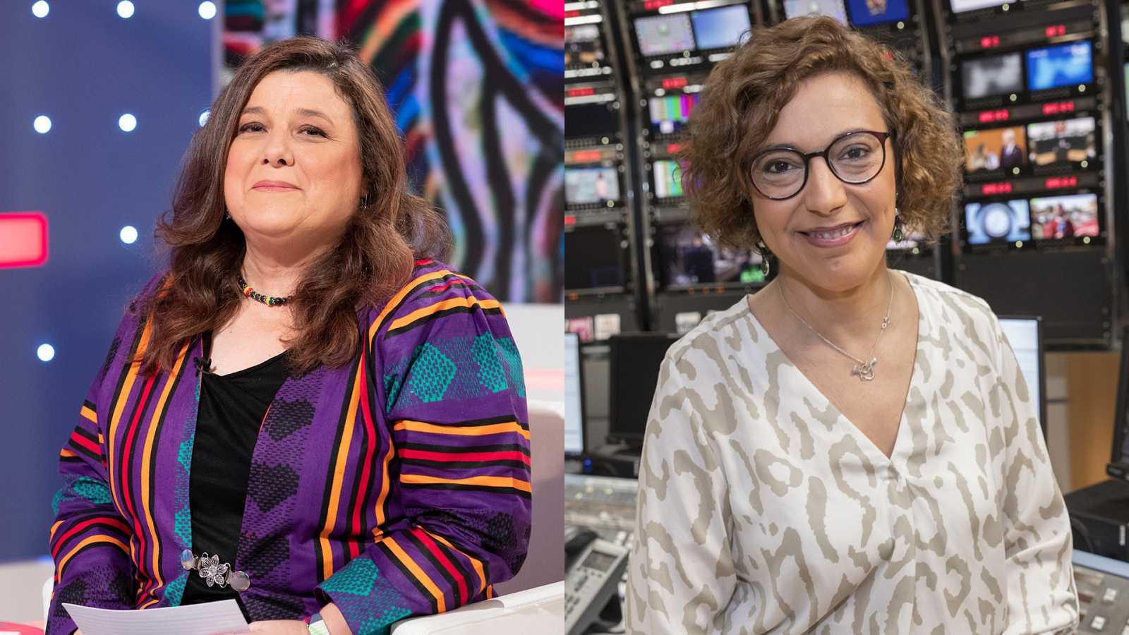 Pilar Requena y Carolina Pecharromán