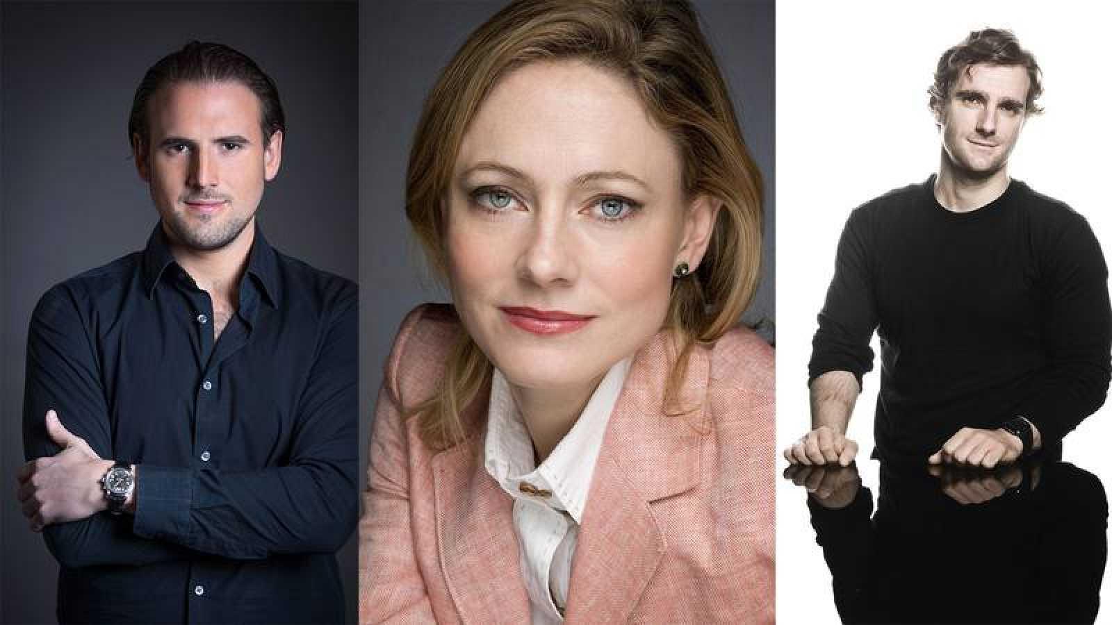 François López Ferrer, Sonia de Munck y Gabriel Bermúdez