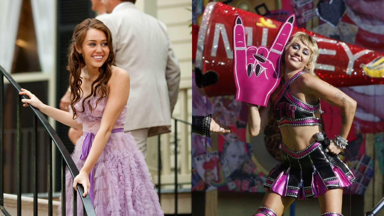 La evolución de Miley Cyrus, de Hannah Montana a la Super Bowl