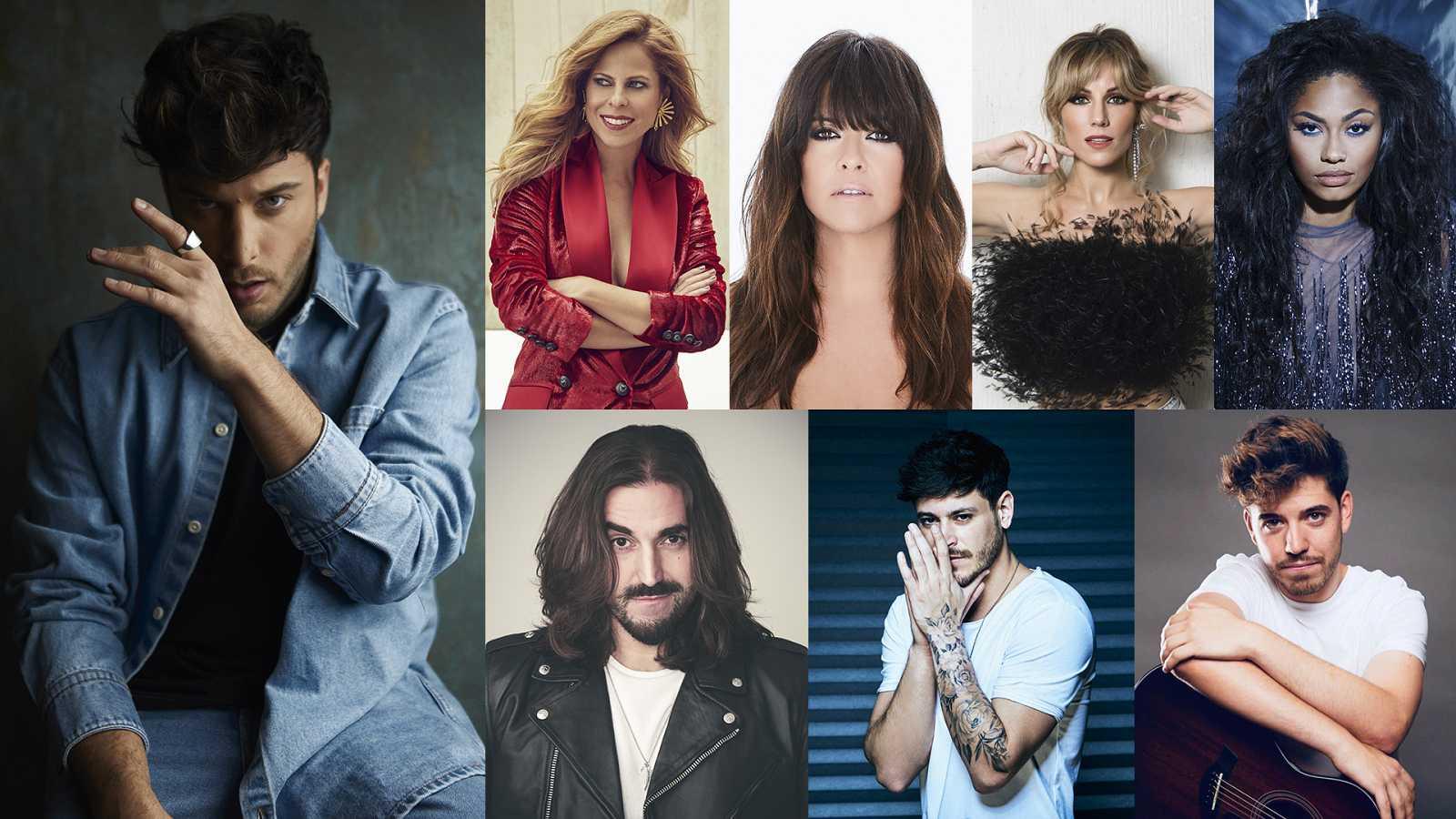 Invitados de Blas Cantó en 'Destino Eurovisión'